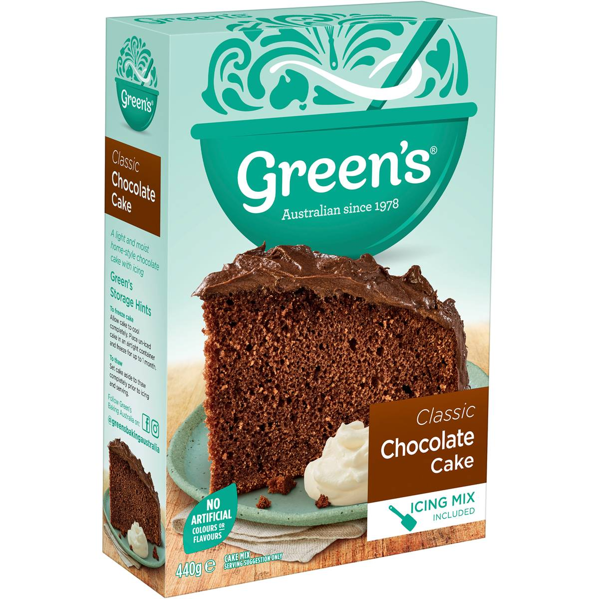 Greens Cake Mix Woolworths
