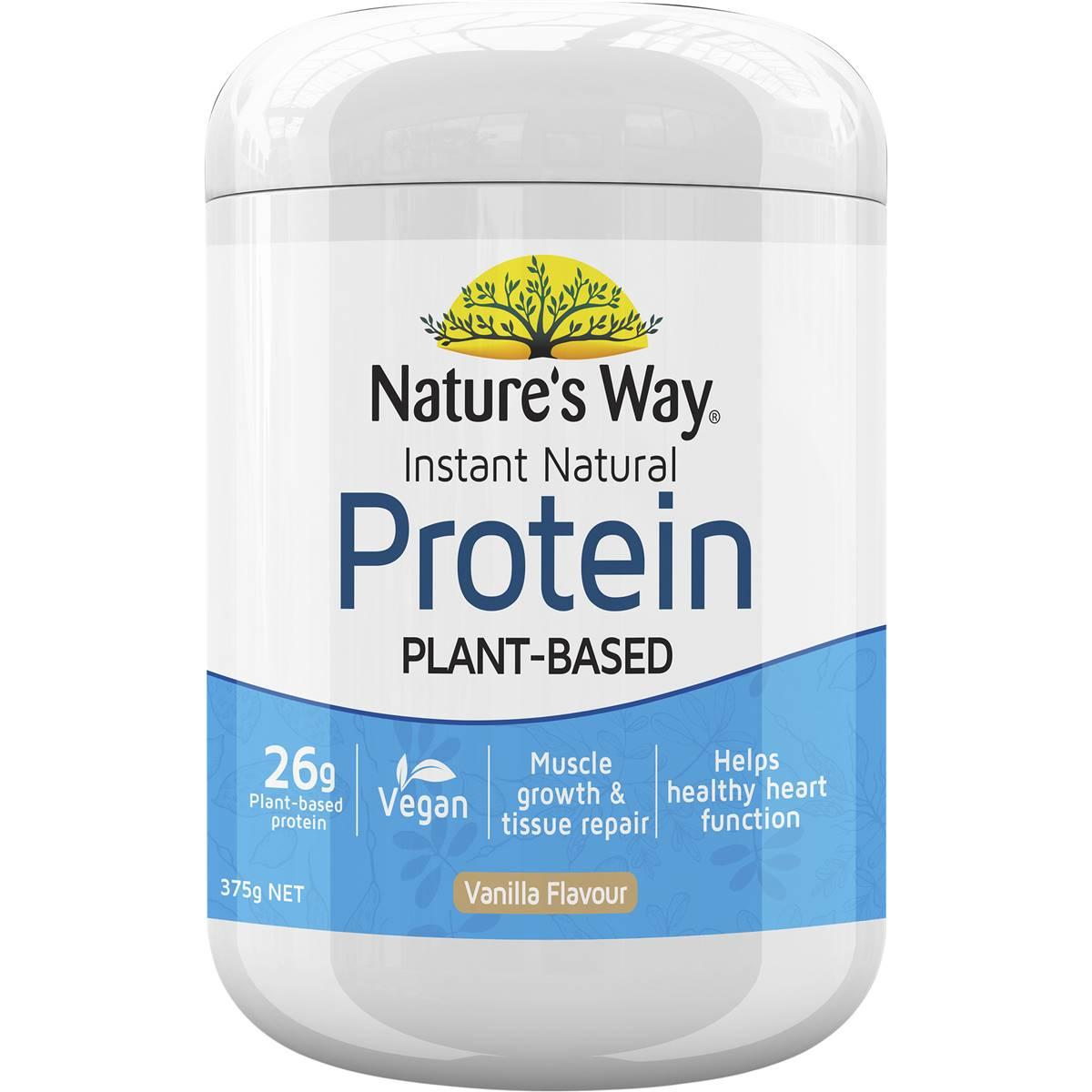 Natures Way Protein Powder Vanilla