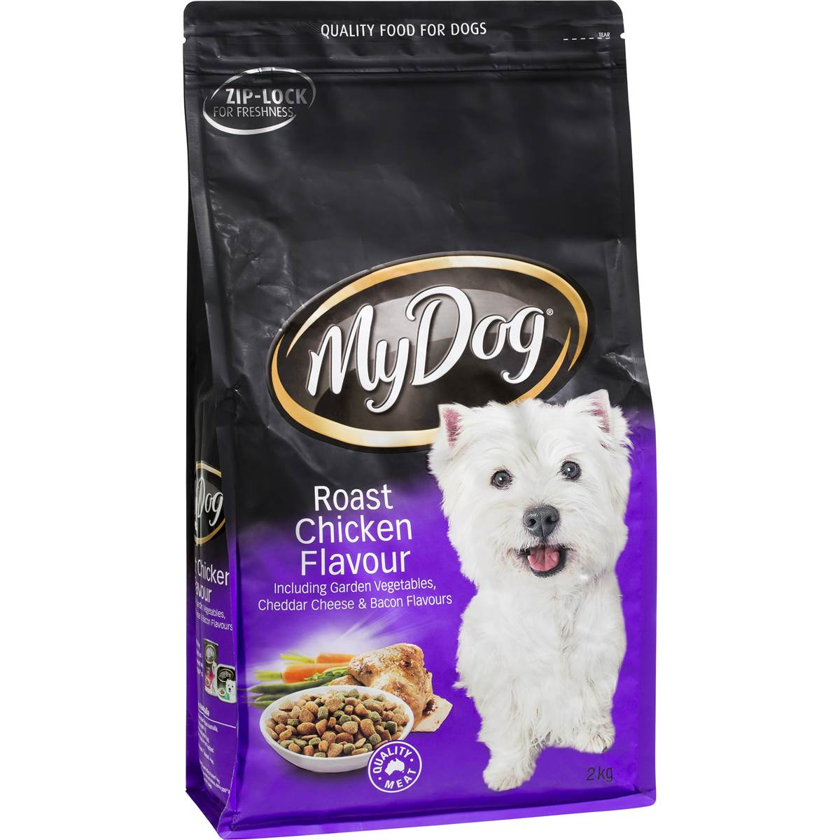 My dog adult dog food roast chicken flavour woolworths for Akc dog food