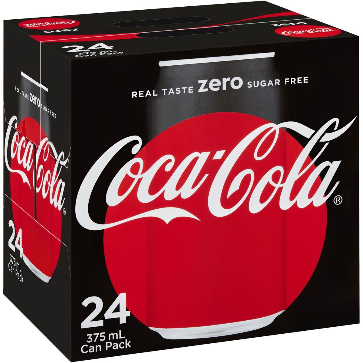 Coca-cola Coke Zero Cans   Compare Club