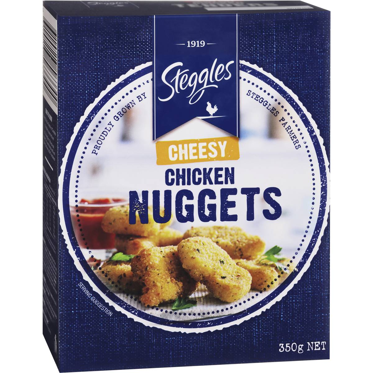 Woolworths Steggles Cheesey Chicken Nuggets Cheesy