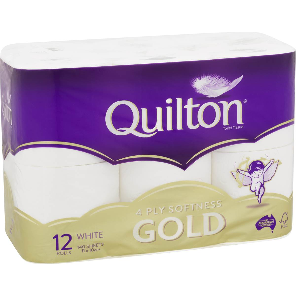 quilton gold toilet paper 12pk woolworths