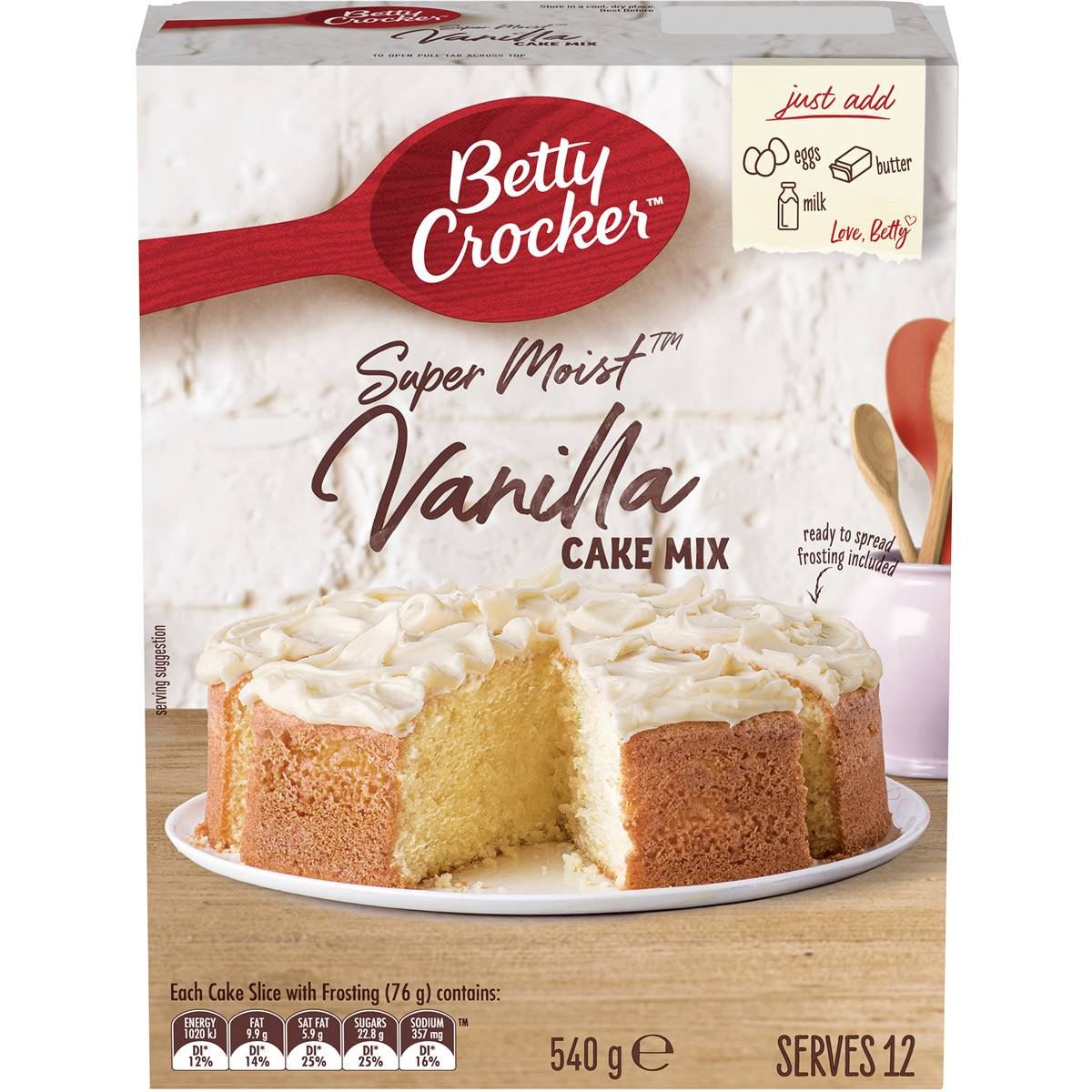 Betty Crocker Lemon Cake Box Directions