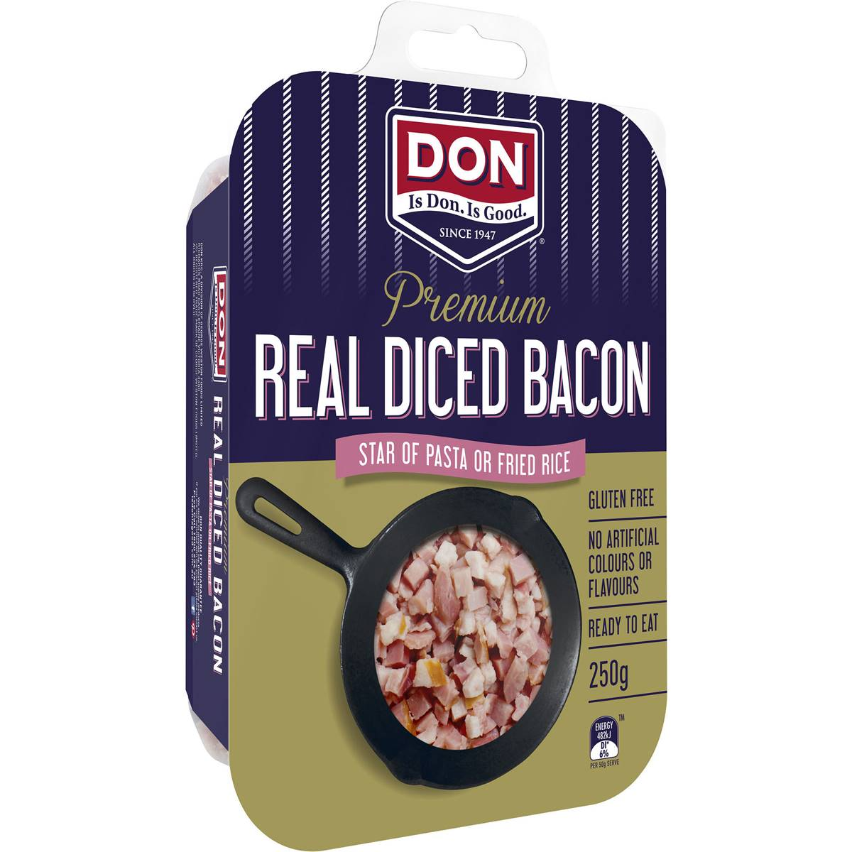 how to make diced bacon