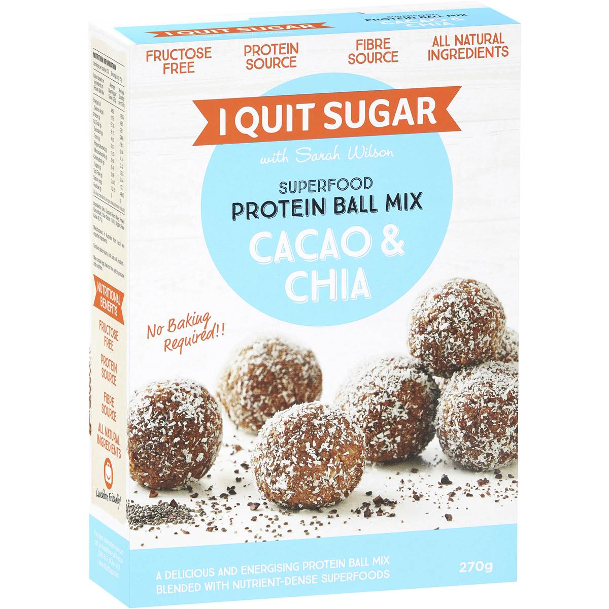 I Quit Sugar Protein Balls Coles Proteinwalls