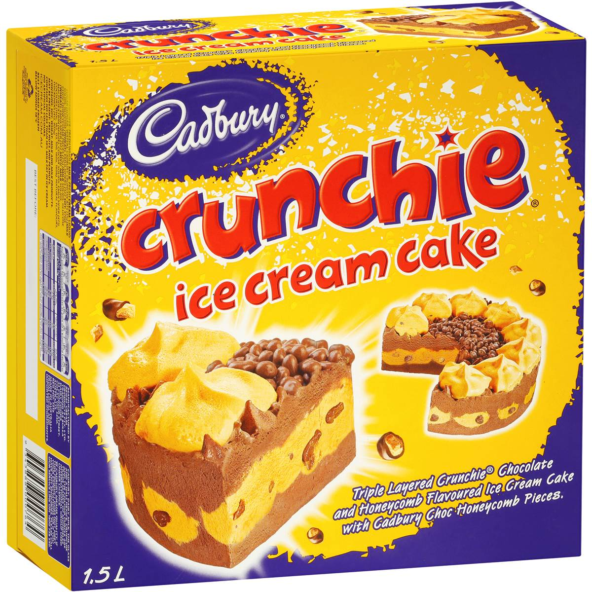 Crunchie Ice Cream Cake Woolworths