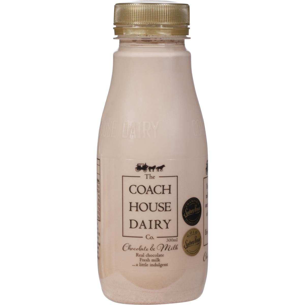 The Coach House Dairy Chocolate Milk 300ml Woolworths