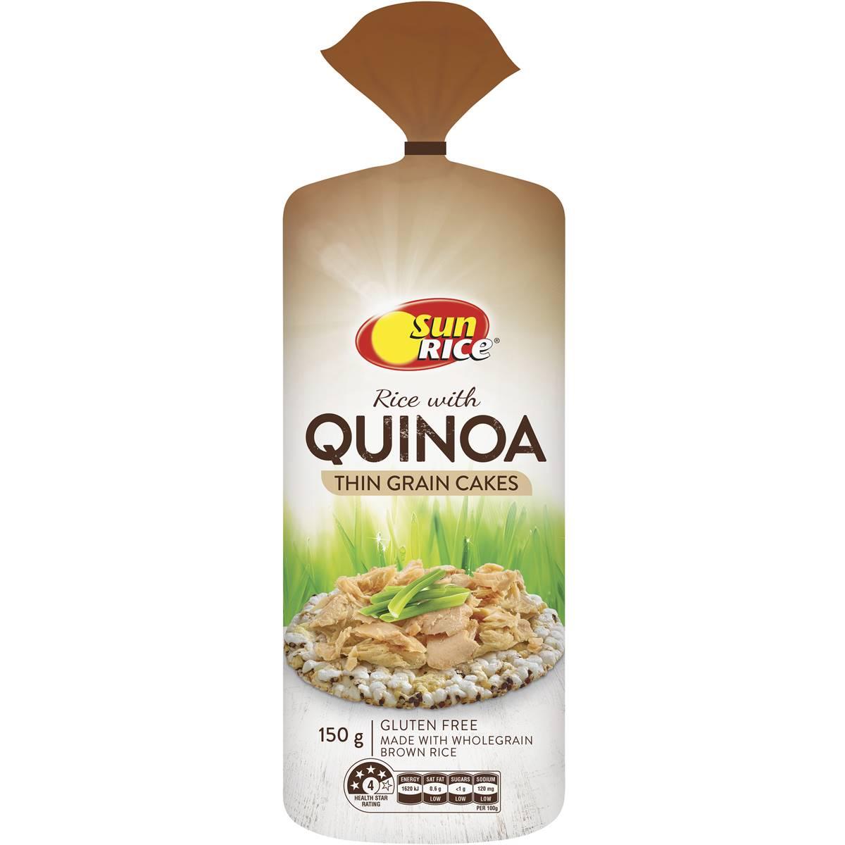 Quinoa Rice Cakes Cake Recipe